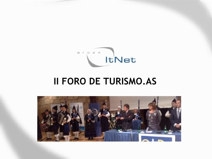 II FORO DE TURISMO.AS