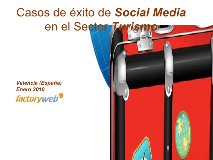 Turismo Redessociales Factoryweb Ene2010