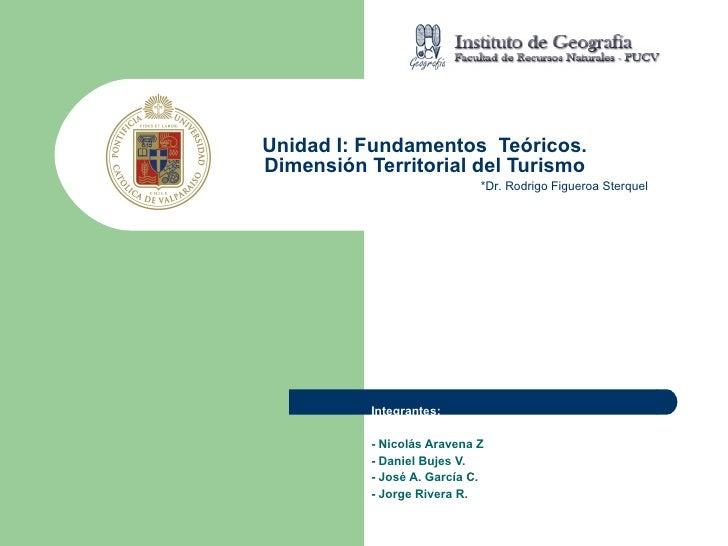 Integrantes: - Nicolás Aravena Z - Daniel Bujes V. - José A. García C. - Jorge Rivera R. Unidad I: Fundamentos  Teóricos. ...