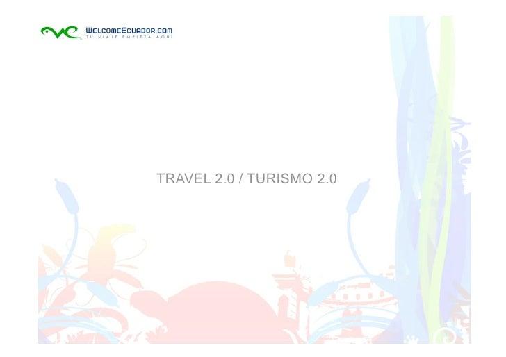 TRAVEL 2.0 / TURISMO 2.0