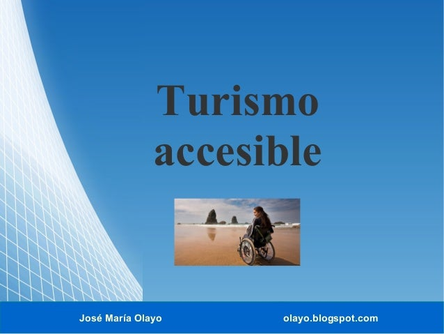 Turismo accesible.