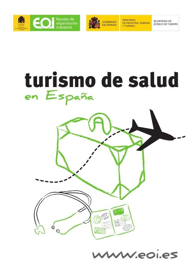 www.eoi.es en España turismo de salud SECRETARÍA DE ESTADO DE TURISMO