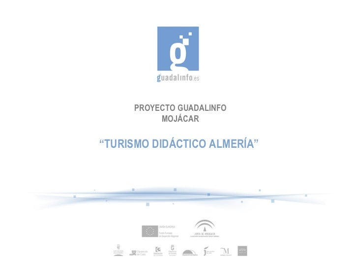 Turismo didactico almeria
