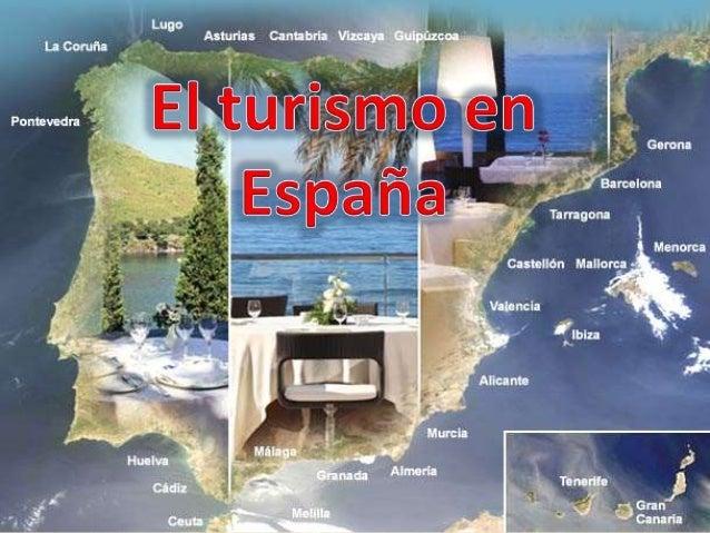Índice • El modelo turístico español actual. • Procedencia y destino del turismo exterior. • Infraestructura hotelera. • T...