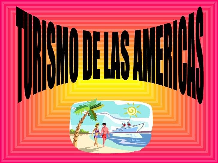 Turismo en las americas rivero caled