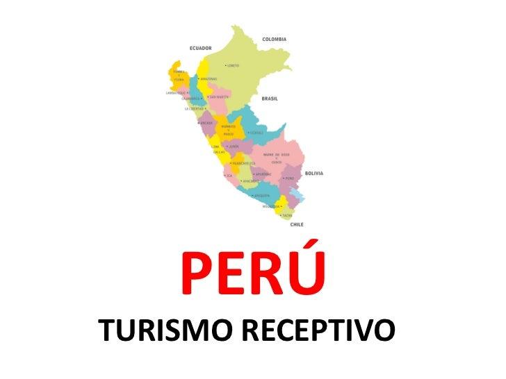 Turismo receptivo
