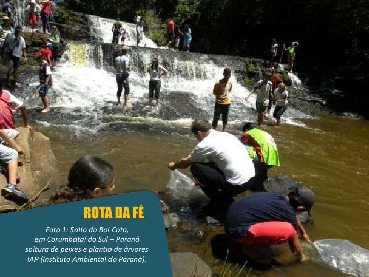 Turismo Sustentável no Santuário de Santa Paulina - Dra.Marlene Huebes Novais