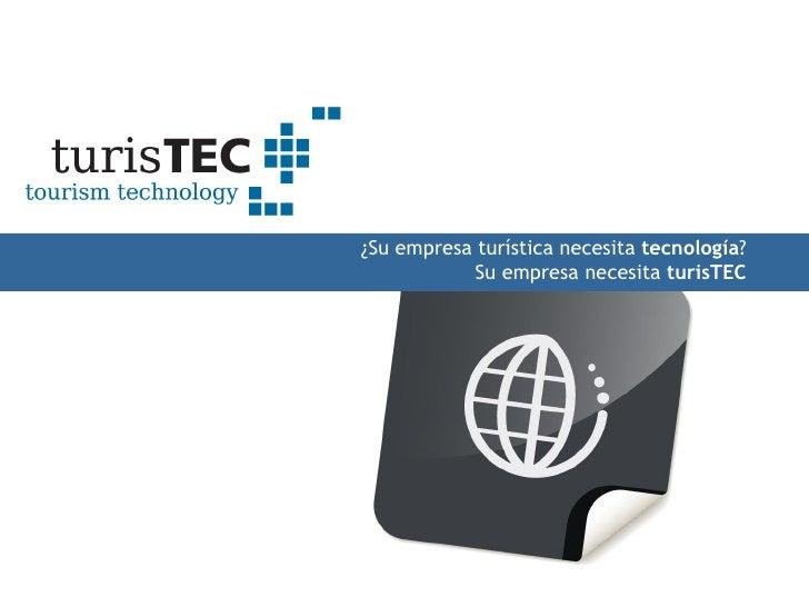 TurisTec : tecnología turística