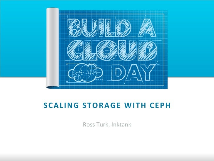 vBACD July 2012 - Scaling Storage with Ceph