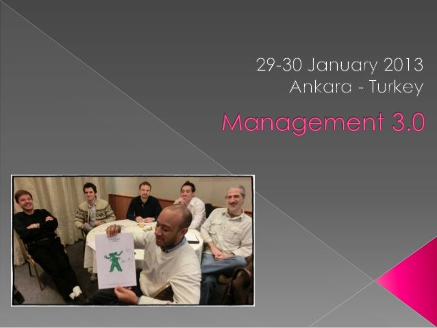 Turkey Management 3.0 Agile Leadership Practices Course