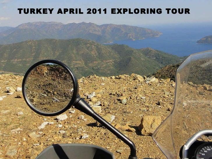 TURKEY MOTORCYCLETOUR 2011 WITH CHRISTOPH DEL BONDIO
