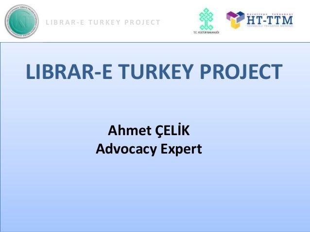 LIBRAR-E TURKEY PROJECT