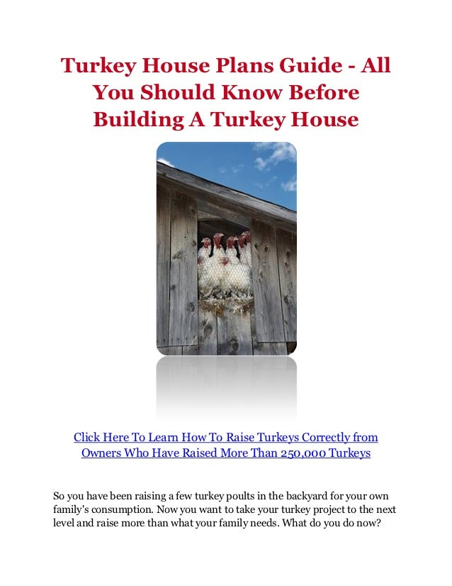 Turkey house plans guide all you should know before for What to know when building a house