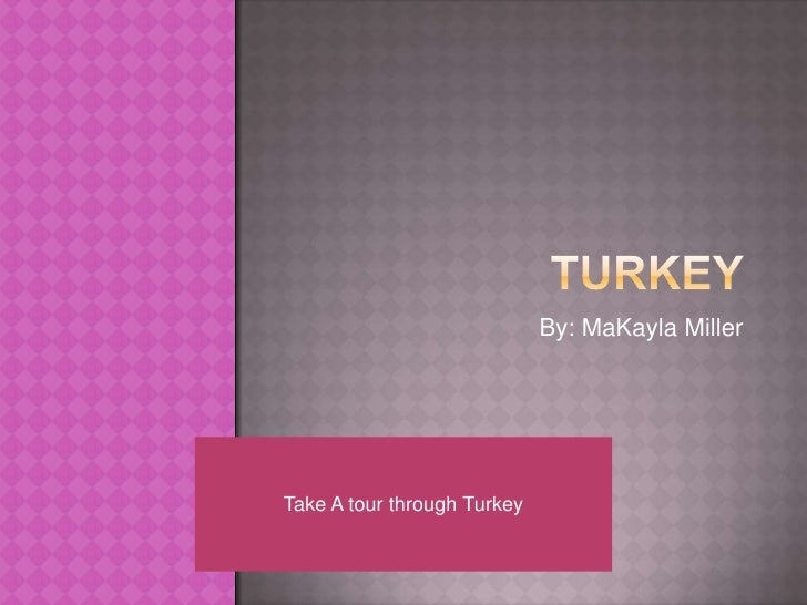 Turkey project for ela and reading