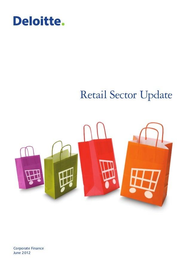 Retail Sector Update Corporate Finance June 2012