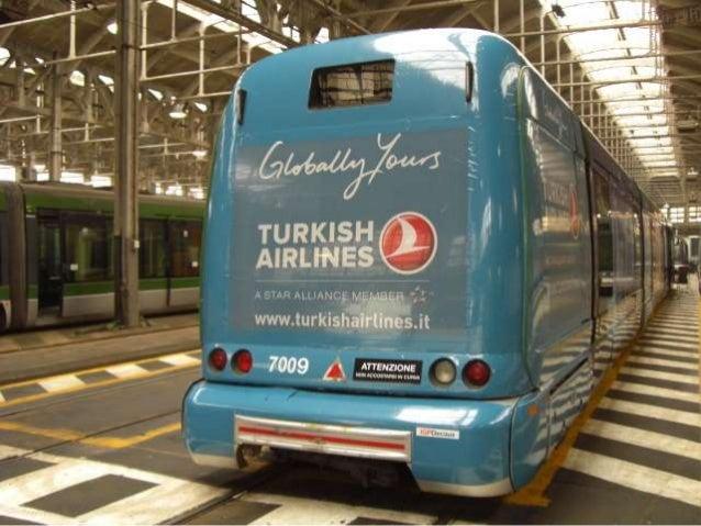 Turkish Airlines Milano Tram Ad