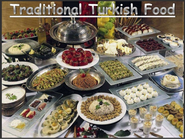 Turkish foods idea