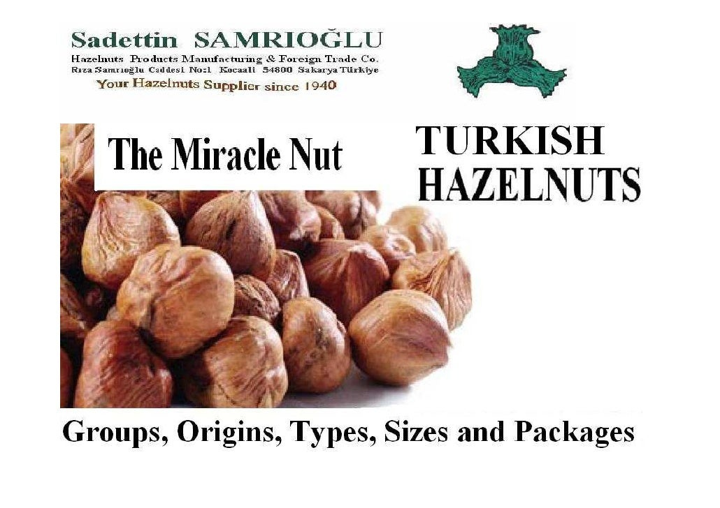 Hazelnuts Usage Areas                             Use                      Most commonly used forms                       ...