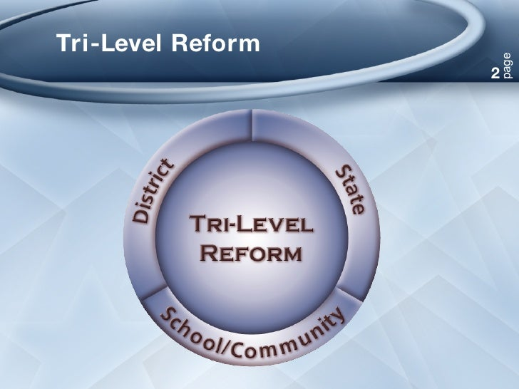 Tri-Level Reform 2 page