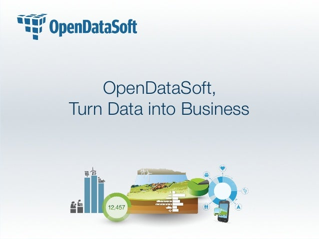 OpenDataSoft, Turn Data into Business