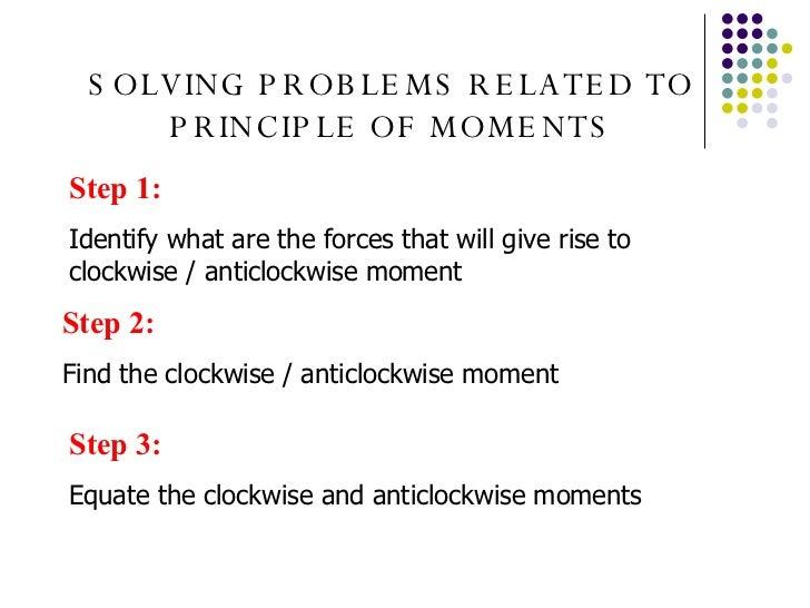 Solving Work Problems
