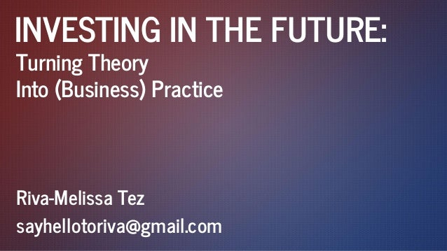 Turning theory into business EA2014
