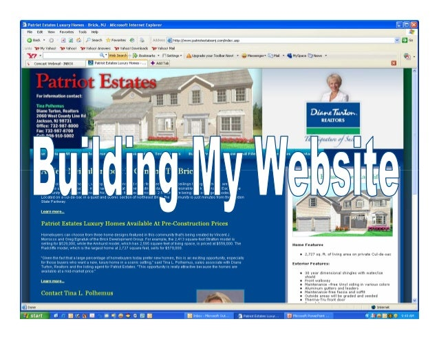 Your Home PageYour homepage is your welcome page to website visitors. It includes:•   Your masthead•   Your contact inform...