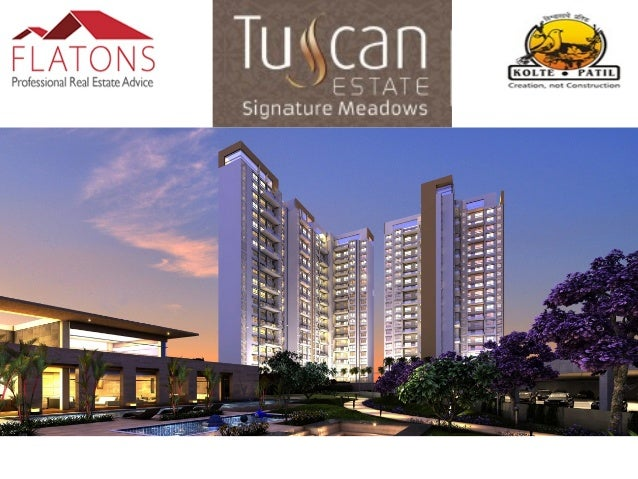 About Tuscan Signature Meadows: Tuscan Estate Signature Meadows, located at Kharadi, Pune is a well thought out confluence...