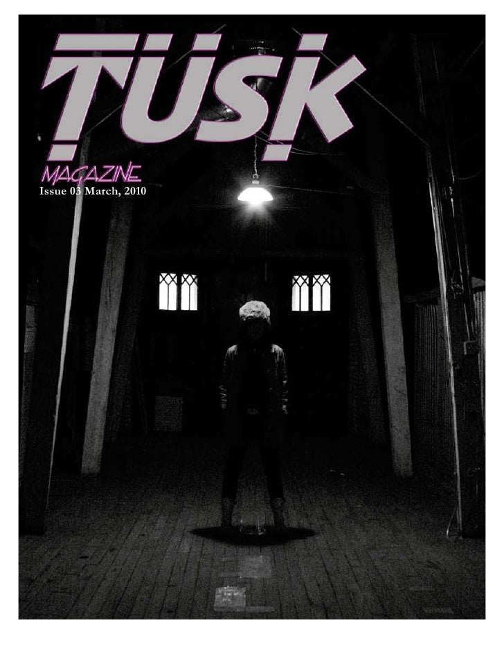 Tusk Digital Magazine March2010