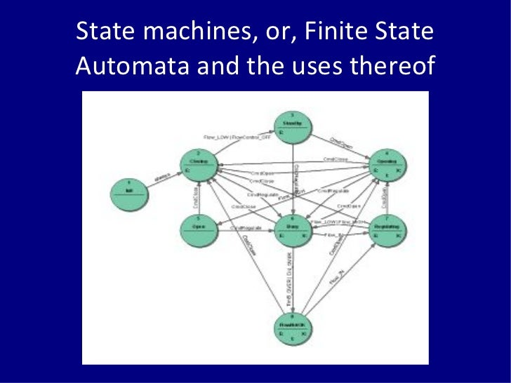 State machines, or, Finite State Automata and the uses thereof