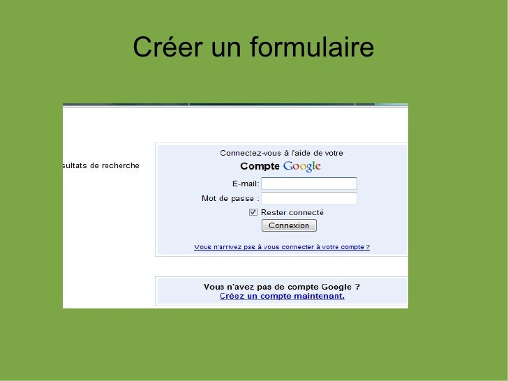 Tuto creer formulaire