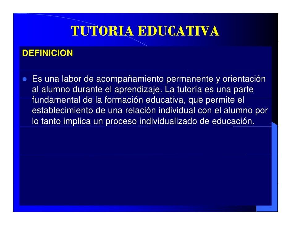 Tutoria educativa modo de compatibilidad for La accion educativa en el exterior