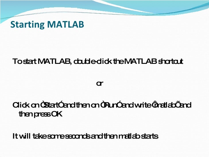 basic matlab tutorial Audio tutorials for matlab  matlab basic tutorials  tutorial and help on  plotting 2d and 3d graphs in matlab created by university of west virginia.