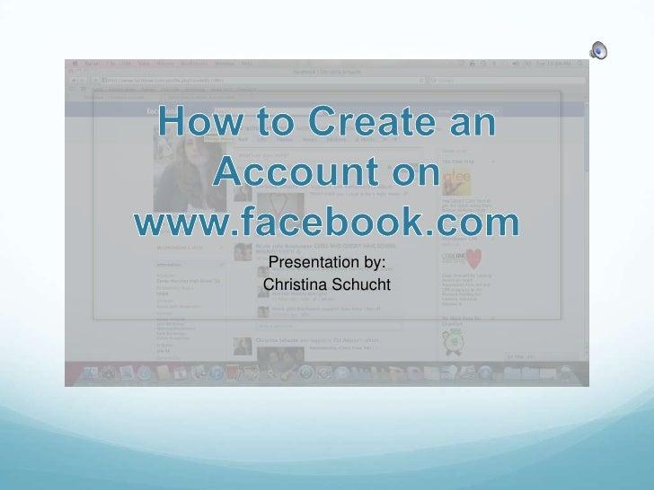 Presentation by: Christina Schucht