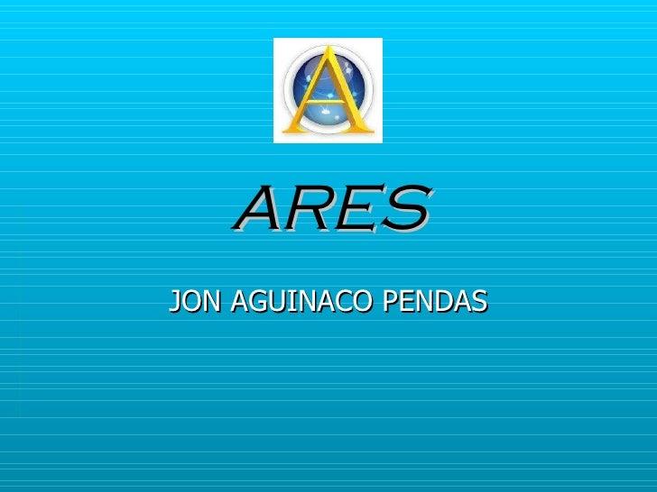 ARES JON AGUINACO PENDAS