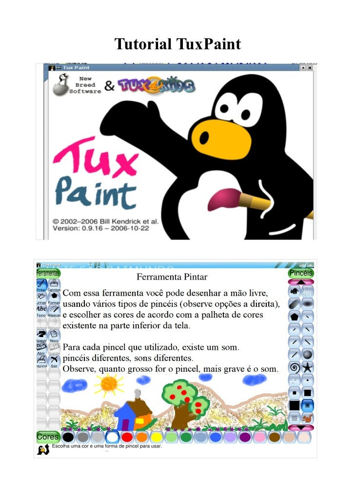 Tutorial TuxPaint