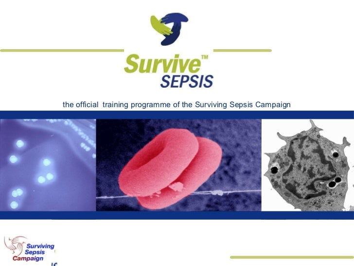 the official  training programme of the Surviving Sepsis Campaign