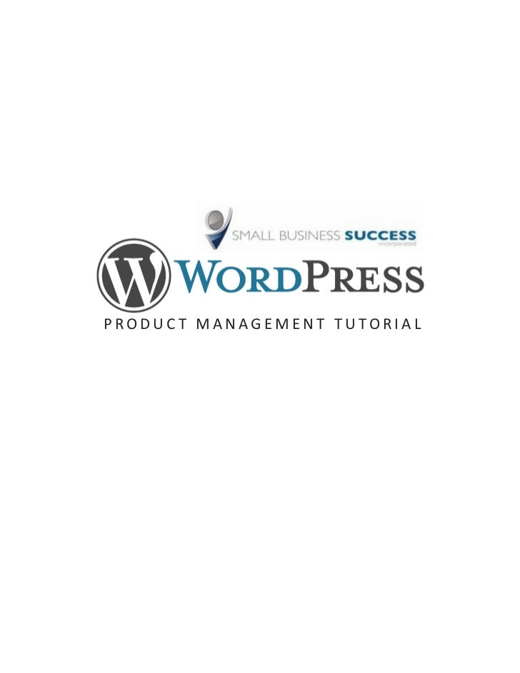 Shopp WordPress Tutorial