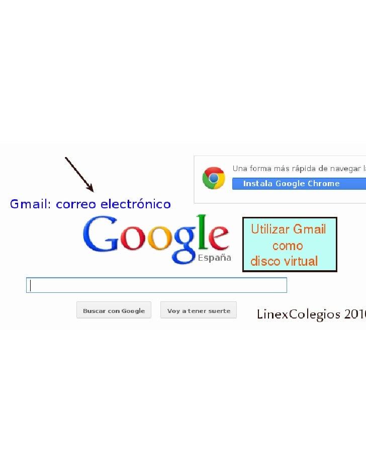 Gmail como disco virtual