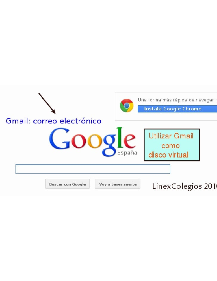 Gmail como disco virtual