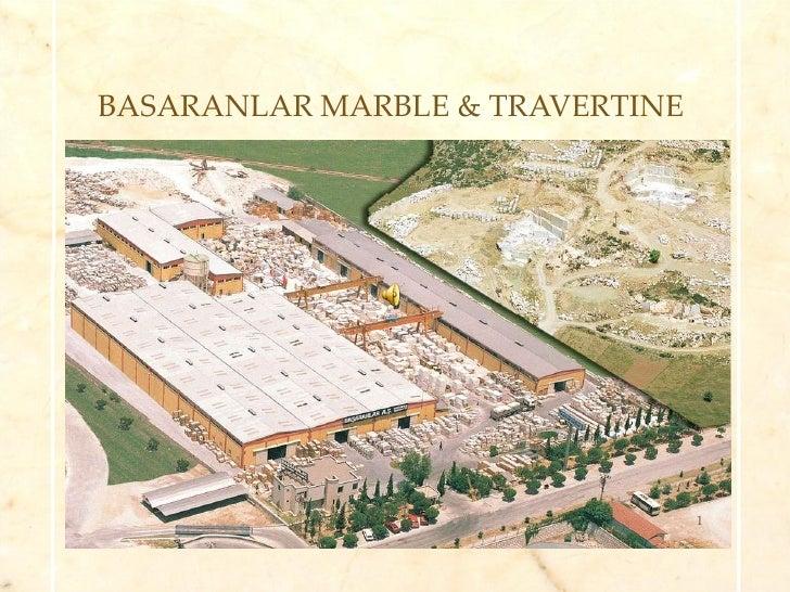 BASARANLAR MARBLE & TRAVERTINE