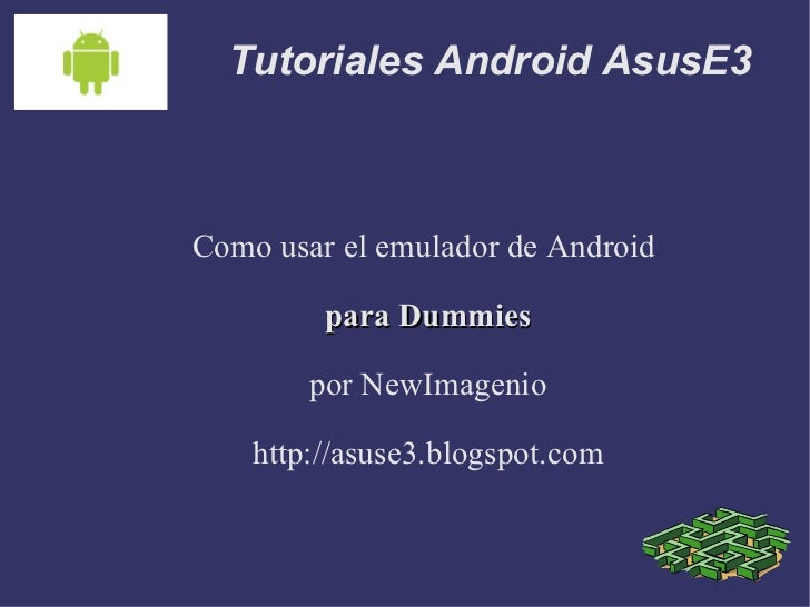 Tutorial Android 1