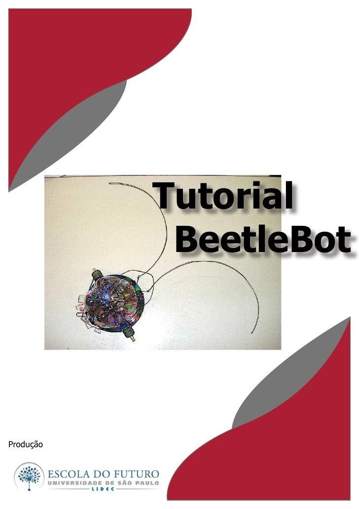 Tutorial             BeetleBot     Produção