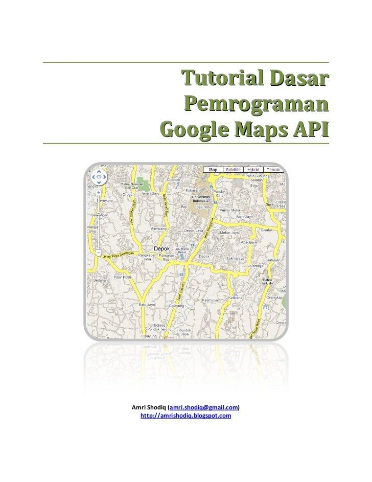 Tutorial dasar-pemrograman-google-maps-api
