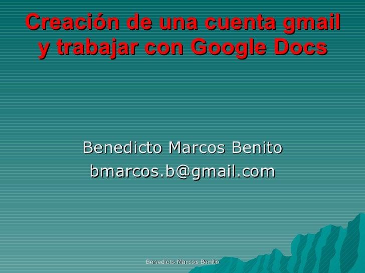 Tutorial sobre gmail y google docs