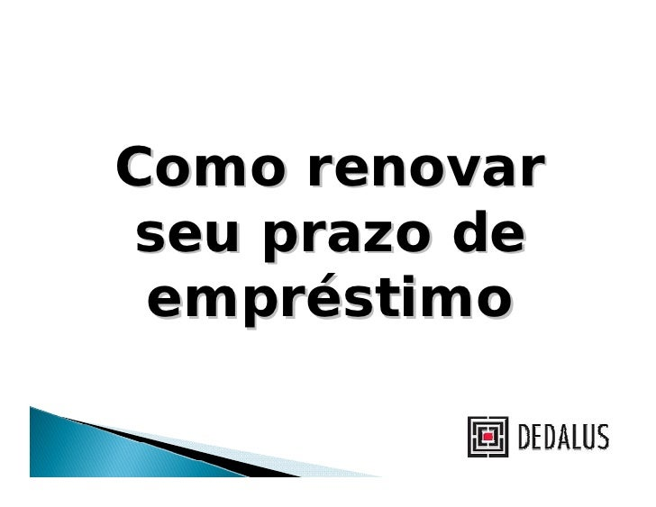 Tutorial   renovacao
