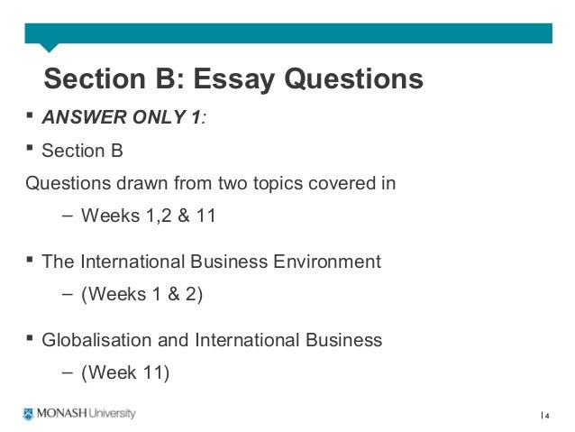 e business questions essay Do you wish to buy the best business essay on the market at our website, you can find both application essays and business papers of all types.