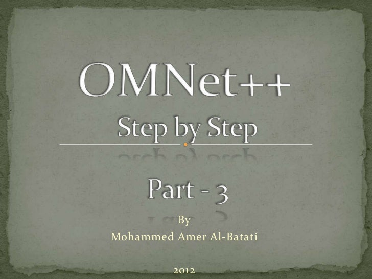 Tutorial 3   getting started with omnet