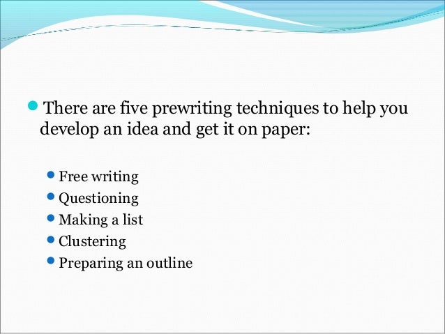 process essay format