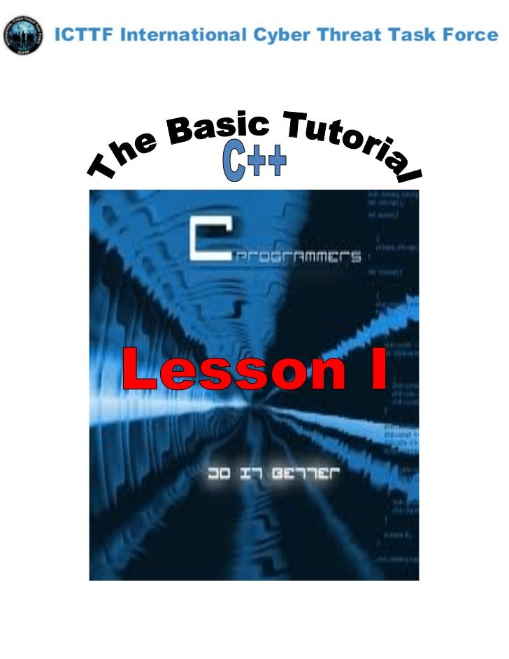 Getting Set Up - C++ CompilersThe first thing you need to do, before starting on the C + +, is to ensure that you have a c...